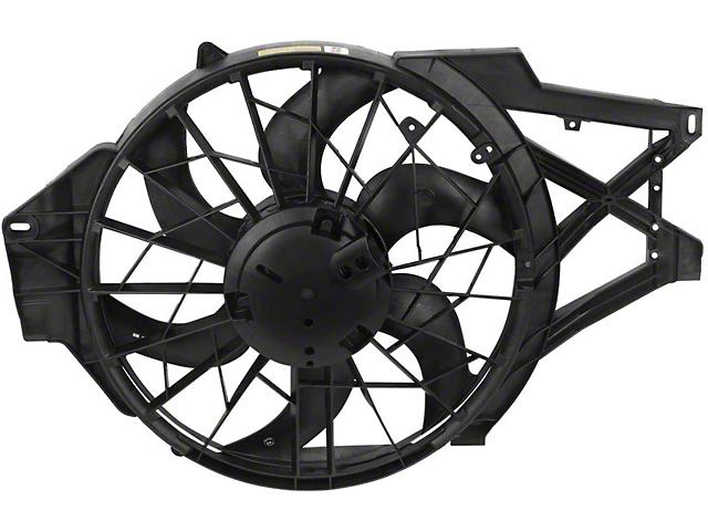 Radiator Fan; OE Style; Fits 4.60-Liter Model (97-00 4.6L Mustang)