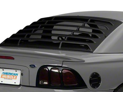 Add MMD Rear Window Louvers - ABS (94-04 All)