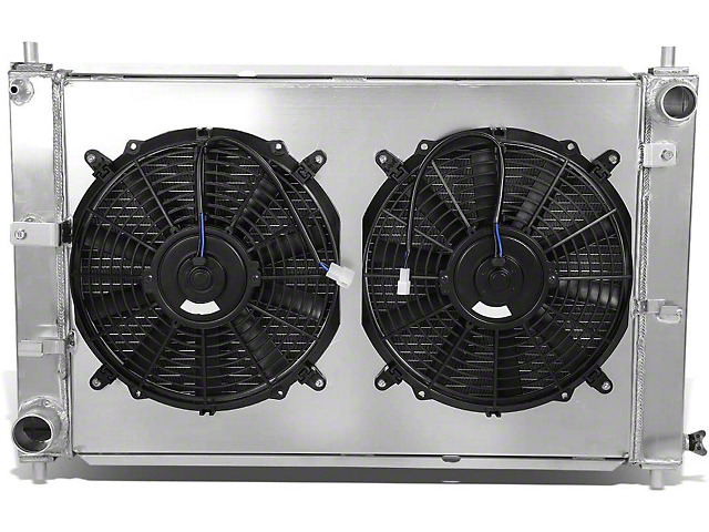 Radiator; Fan Shroud; 3-Row (97-04 V6, V8)