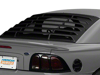 MMD Rear Window Louvers - ABS (94-04 Coupe)