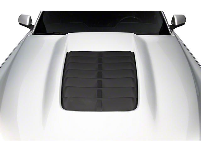 Cervini's GT500 Style Hood; Unpainted (18-21 GT, EcoBoost)