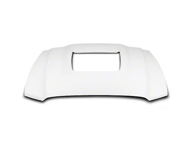 Cervini's GT500 Style Hood; Unpainted (13-14 All)