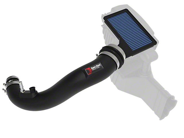 AFE Magnum FORCE Super Stock Cold Air Intake with Pro 5R Oiled Filter; Black (15-21 EcoBoost)