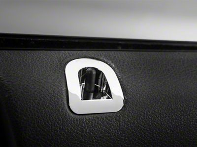 Modern Billet Chrome Door Lock Bezel (05-14 All)
