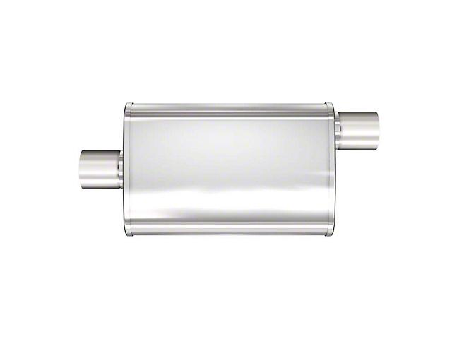 Magnaflow XL Multi-Chamber Performance Center/Offset Straight Satin Muffler; 2.50-Inch (Universal Fitment)