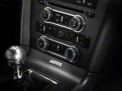 Modern Billet Chrome Radio & HVAC Control Bezels (10-14 w/o NAV)