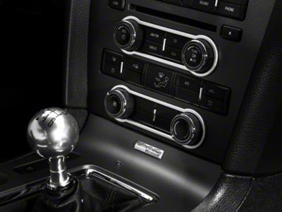 Add Modern Billet Satin Radio & HVAC Control Bezels (10-14 w/o NAV)