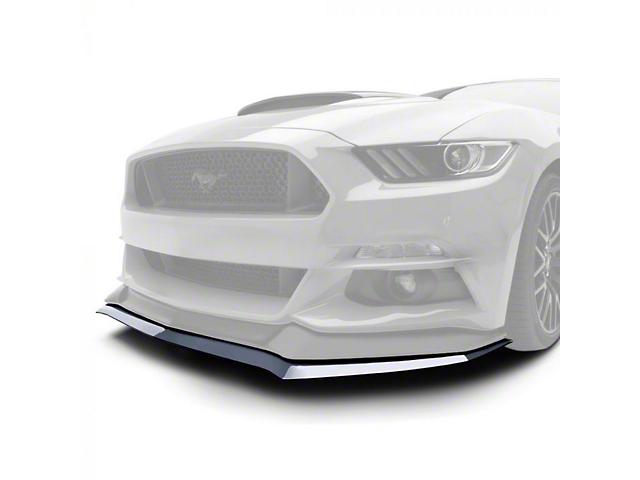 Air Design Front Lip Splitter; Satin Black (15-17 GT, EcoBoost, V6)