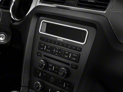Add Modern Billet Satin Main Display Bezel (10-14 w/o NAV)
