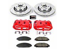 Power Stop Z23 Evolution Brake Rotor, Pad and Caliper Kit; Front (15-21 Standard EcoBoost, V6)