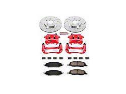 Power Stop Z23 Evolution Brake Rotor, Pad and Caliper Kit; Front (05-10 V6)