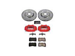 Power Stop Z23 Evolution Brake Rotor, Pad and Caliper Kit; Front (11-14 GT Brembo; 12-13 BOSS 302; 07-12 GT500)