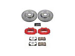 Power Stop Z26 Street Warrior Brake Rotor, Pad and Caliper Kit; Front (11-14 GT Brembo; 12-13 BOSS 302; 07-12 GT500)