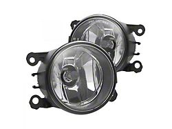OE Style Replacement Fog Lights; Clear (07-09 V6 w/ Pony Package)
