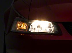 Axial OEM Style Replacement Headlights; Black Housing; Clear Lens (99-04 All)