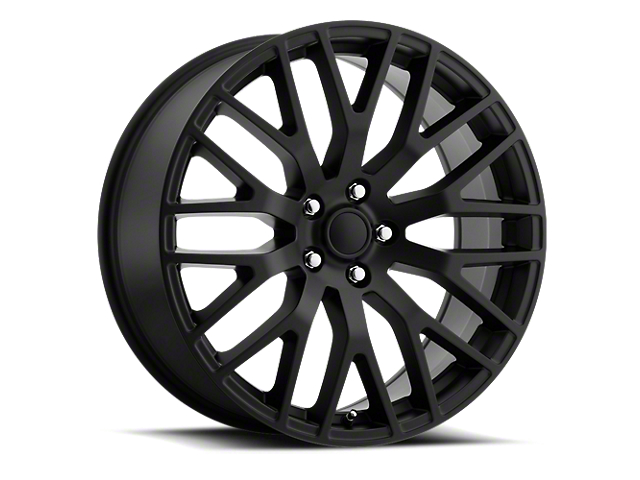 Performance Pack Style Gloss Black Wheel; Rear Only; 20x10 (05-09 All)