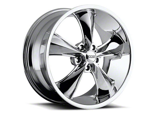 Foose Legend Chrome Wheel; 20x8.5 (05-09 GT, V6)