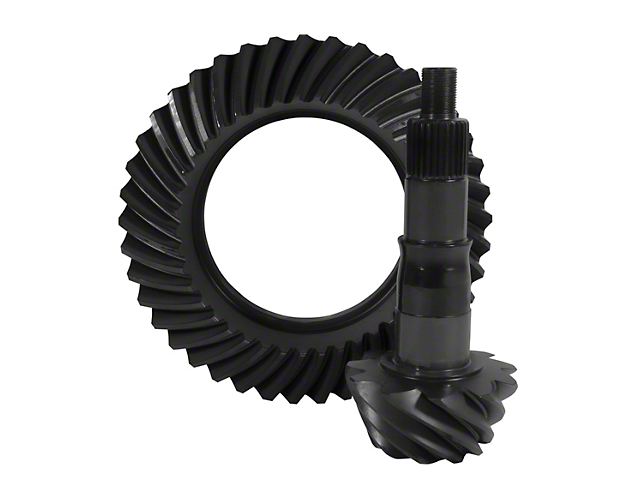 Yukon Gear Differential Ring and Pinion; Rear; Ford 8.80-Inch; Ring and Pinion Set; 4.11-Ratio; 30-Spline Pinion (79-14 Mustang)