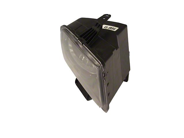 Ford Factory Replacement Halogen Headlight; Black Housing; Clear Lens; Passenger Side (05-09 GT, V6)