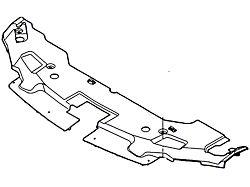Ford Radiator Cover (13-14 GT, V6)