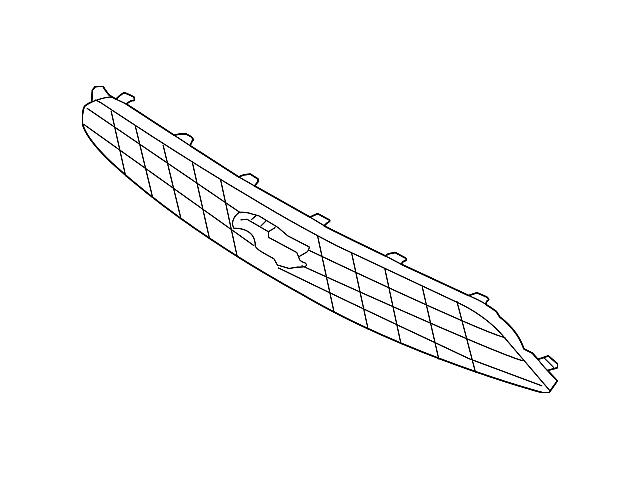 Ford Upper Grille (13-14 V6)