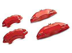 SR Performance Red Caliper Covers; Front and Rear (15-21 Standard GT, EcoBoost w/ Performance Pack)