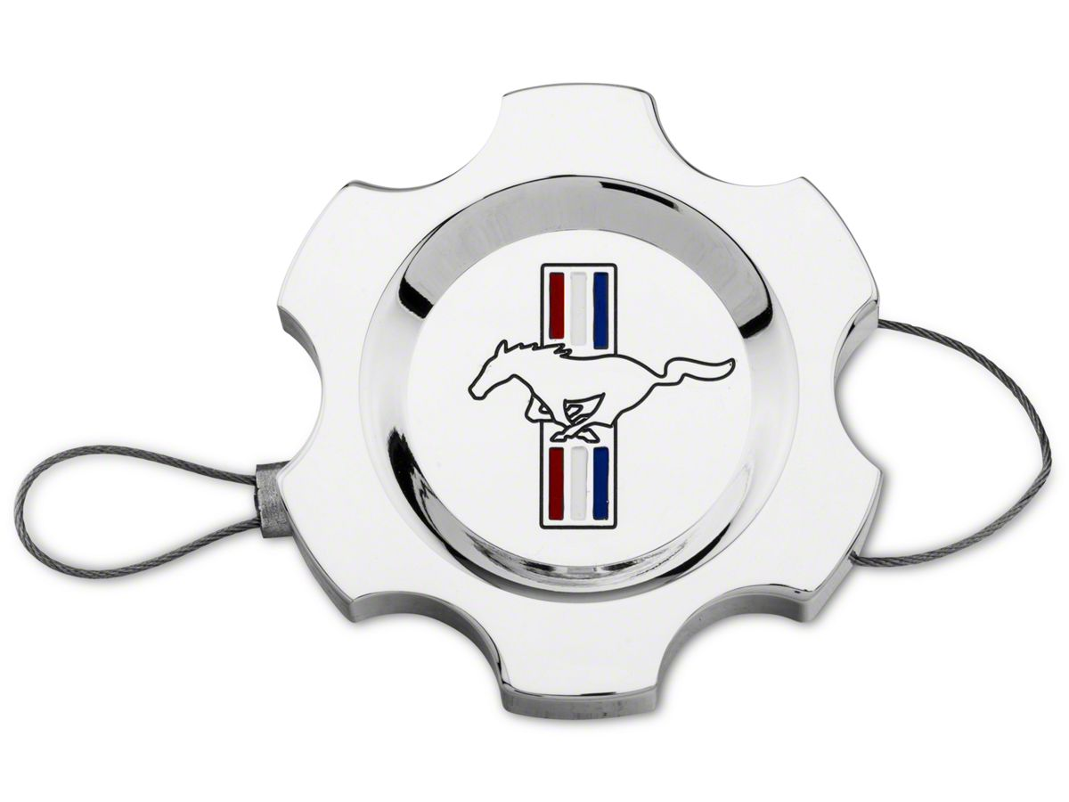 1996-2010 Mustang GT Cobra /& Shelby Chrome Engine Power Steering Tank Cap Cover