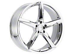 MKW M120 Chrome Wheel; 20x8.5 (15-21 GT, EcoBoost, V6)
