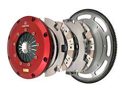 Mantic Clutch 9000 Series Twin Disc Ceremetallic Clutch Kit with 8-Bolt Flywheel; 23 Spline (11-17 GT; 12-13 BOSS 302)