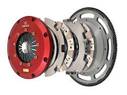 Mantic Clutch 9000 Series Twin Disc Ceremetallic Clutch Kit with 8-Bolt Flywheel; 26 Spline (07-14 GT500)