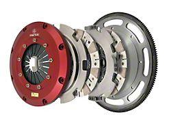 Mantic Clutch 9000 Series Twin Disc Ceremetallic Clutch Kit with 8-Bolt Flywheel; 26 Spline (11-17 GT; 12-13 BOSS 302)