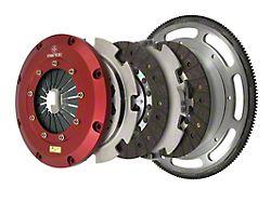 Mantic Clutch 9000 Series Twin Disc Organic Clutch Kit with 8-Bolt Flywheel; 23 Spline (11-17 GT; 12-13 BOSS 302)