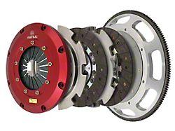Mantic Clutch 9000 Series Twin Disc Organic Clutch Kit with 8-Bolt Flywheel; 23 Spline (18-21 GT)