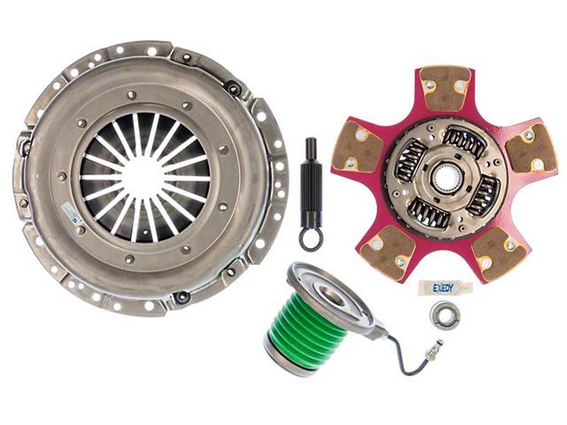 Exedy Stage 2 Cerametallic Clutch Kit with Paddle Style Disc; 26 Spline (05-10 GT)