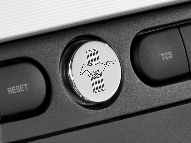 Modern Billet Chrome Power Plug - Tri-Bar Logo (05-09 All)