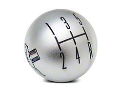 Modern Billet 2010 Style Shift Knob w/ Tri-Bar Logo - Satin (05-10 GT, V6)