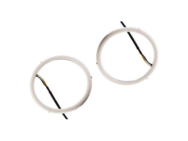 Diode Dynamics HD Headlight LED Halo Rings; White (16-19 Tacoma)