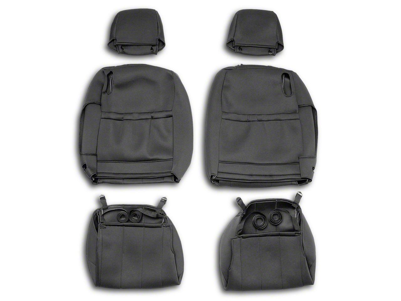 Caltrend NeoSupreme Front Seat Cover - Black (05-14 All)