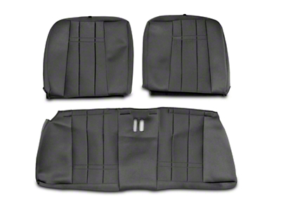 Caltrend NeoSupreme Rear Seat Cover - Black (99-04 All)