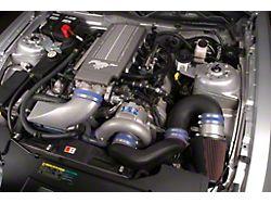 Vortech V-3 Si-Trim Supercharger Tuner Kit with Charger Cooler; Black Finish (2010 GT)