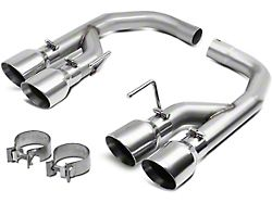 Muffler Delete Axle-Back Exhaust with Polished Tips (18-21 GT w/o Active Exhaust)