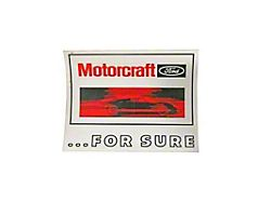 Scott Drake 6-Inch Motorcraft for Sure GT40 Decal