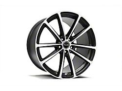 Shelby CS10 Gloss Black Machined Wheel; Rear Only; 20x11 (10-14 All)