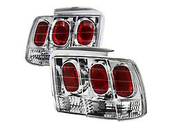 Altezza Tail Lights; Chrome Housing; Clear Lens (99-04 All, Excluding 99-01 Cobra)