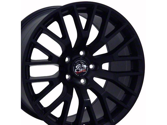 Copperhead Performance Pack Style Satin Black Wheel; 18x9 (10-14 Standard GT, V6)