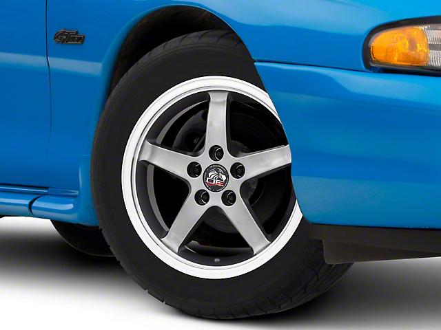Copperhead 2003 Cobra Style Gunmetal Wheel; 17x9 (94-98 All)