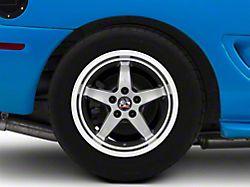 Copperhead 2003 Cobra Style Gunmetal Wheel; Rear Only; 17x10.5 (94-98 All)