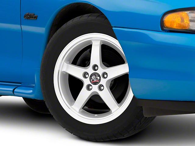 Copperhead 2003 Cobra Style Silver Machined Wheel; 17x9 (94-98 All)
