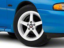 Copperhead 2003 Cobra Style Silver Machined Wheel; 17x9 (99-04 All)