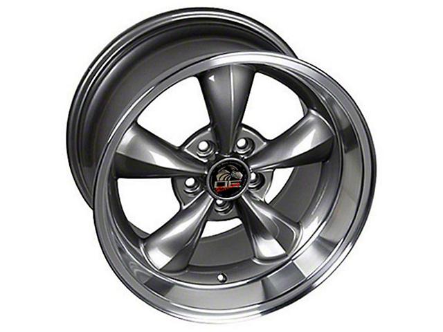 Copperhead Bullitt Style Anthracite Wheel; Rear Only; 17x10.5 (99-04 All)